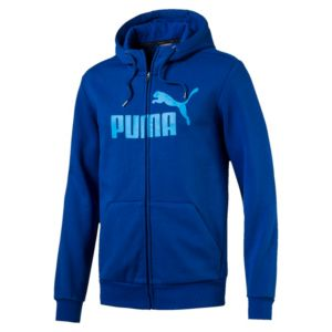 Men's Style No.1 Logo Full Zip Fleece Hoodie