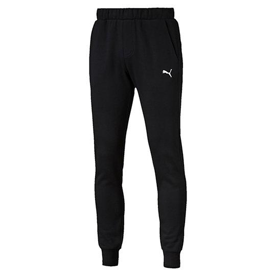 Брюки ESS Sweat Pants SLIM, FL, cl.Брюки и леггинсы<br>Брюки ESS Sweat Pants SLIM, FL, cl.<br>Спортивные брюки ESS Sweat Pants SLIM, FL, cl из мягкого, приятного телу материала идеально подойдут ведущему активный образ жизни мужчине. Оригинальный, стильный внешний вид брюк дополняет вышитый логотип PUMA Cat. <br><br>Коллекция: Осень-зима 2016<br>Состав: 66% хлопок, 34% полиэстер; флисЦвета: черный, серый, синий<br>Страна-производитель: Китай<br><br><br>size RU: 46-48<br>gender: Male