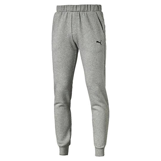 Брюки ESS Sweat Pants SLIM, FL, cl.Брюки и леггинсы<br>Брюки ESS Sweat Pants SLIM, FL, cl.<br>Спортивные брюки ESS Sweat Pants SLIM, FL, cl из мягкого, приятного телу материала идеально подойдут ведущему активный образ жизни мужчине. Оригинальный, стильный внешний вид брюк дополняет вышитый логотип PUMA Cat. <br><br>Коллекция: Осень-зима 2016<br>Состав: 66% хлопок, 34% полиэстер; флисЦвета: черный, серый, синий<br>Страна-производитель: Китай<br><br><br>size RU: 50-52<br>gender: Male