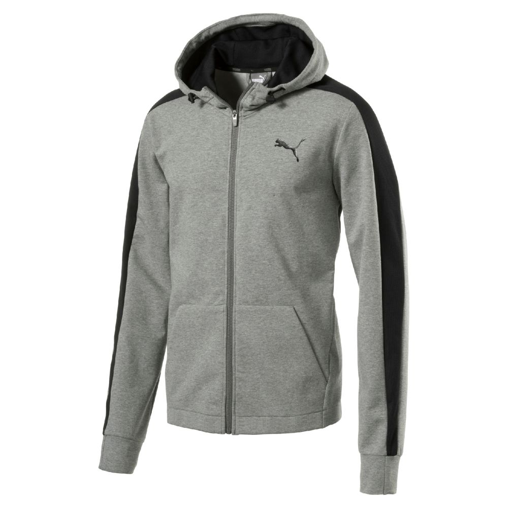 Puma Stretchlite Zip Up Hoodie Ebay