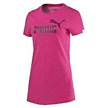 Style No.1 Logo Women's Heathered T-Shirt