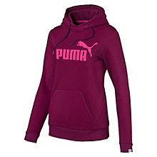 Sweat à capuche Style No.1 Logo Fleece pour femme