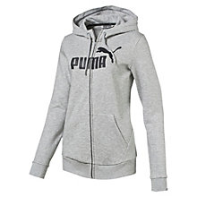 Style No.1 Logo Women's Fleece Full Zip Hoodie
