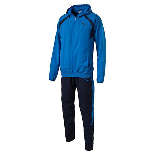 Спортивный костюм ACTIVE BEST Suit - WOVEN, opСпортивные костюмы<br>Спортивный костюм ACTIVE BEST Suit - WOVEN, opСпортивный костюмACTIVE BEST Suit - WOVEN, op отлично подходит для занятий спортом на свежем воздухе. Водонепроницаемое покрытие позволяет не беспокоиться о погодных условиях.Коллекция: Осень-зима 2016Состав: 100% полиэстер; влагоотводящая обработка на основе биотехнологийЦвета: черный, синийСтрана-производитель: Малайзия<br><br>size RU: 46-48<br>gender: Male
