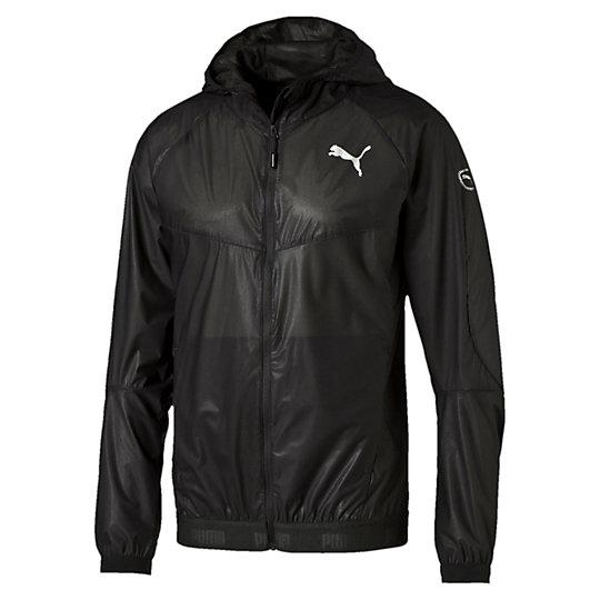 Куртка ACTIVE StretchLITE Storm Jacket MКуртки, жилеты<br>Куртка ACTIVE StretchLITE Storm Jacket M<br>С этой курткой не нужно прерывать тренировку, чтобы переждать дождь. Куртка имеет много удобных деталей, от карманов на молнии до ветрозащитного клапана и защиты для подбородка на молнии капюшона. Никакой прогноз погоды вам больше не помешает.<br><br>Коллекция: Осень-зима 2016<br>Состав: 100% полиэстер; водонепроницаемое покрытие<br>Технологии: stormCELL защитит от дождя и ветра<br>Капюшон с ветрозащитным клапаном и шнурком для подгонки посадки<br>Молния по всей длине с защитой подбородка<br>Два поясных кармана на молнии<br>Эластичная кромка и манжеты<br>Логотип PUMA на груди слева<br>Страна-производитель: Великобритания, Виргинские острова<br><br><br>size RU: 48-50<br>gender: Male