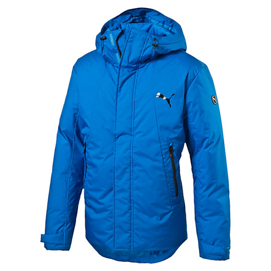 Куртка ACTIVE Protective Down Jacket MКуртки, жилеты<br>Куртка ACTIVE Protective Down Jacket M<br>Теплая и стильная куртка  ACTIVE Protective Down Jacket M. Ветрозащитный клапан с защитой подбородка, светоотражающий язычок молнии, регулируемые манжеты с застежками-липучками, боковые карманы с блестящими проклеенными молниями и односторонней флисовой подкладкой.<br><br>Коллекция: Осень-зима 2016<br>Состав: 100% полиэстер. Наполнитель: 70% пух, 30% перо<br>Технологии: Высокотехнологичный дышащий и непромокаемый материал stormCELL защитит от дождя и ветра<br>Страна-производитель: Гонконг<br><br><br>size RU: 46-48<br>gender: Male