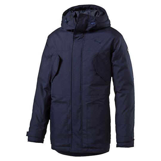 Куртка STYLE Hd Mid Down Jacket MКуртки, жилеты<br>Куртка STYLE Hd Mid Down Jacket M<br>Стильная куртка STYLE Hd Mid Down Jacket M. Данная модель не будет сковывать вас в движениях, вы будете чувствовать себя легко и непринужденно. Куртка, застегивающаяся на молнию, оформлена вышитым логотипом PUMA Cat.<br><br>Коллекция: Осень-зима 2016<br>Состав: 100% полиэстер; водонепроницаемое покрытие. Наполнитель: 90% пух (утиный, некрашеный), 10% перо<br>Страна-производитель: Гонконг<br><br><br>size RU: 46-48<br>gender: Male