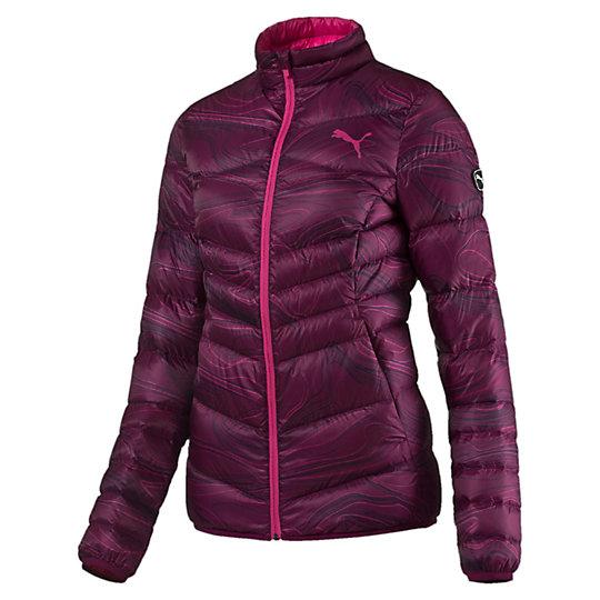 Куртка ACTIVE 600 PackLITE Down Jacket WКуртки, жилеты<br>Куртка ACTIVE 600 PackLITE Down Jacket W<br>Создан для любительниц активного образа жизни, которые не привыкли тратить время впустую. Одежда линии ACTIVE создана для повседневной носки и отличается привлекательным дизайном, при этом элементы конструкции, унаследованные от моделей для активного отдыха, делают этот жилет абсолютно функциональным. Модель прекрасно согревает, имеет удобные боковые карманы и (маленький бонус!) складывается в собственный карман.<br><br>Коллекция: Осень-зима 2016<br>Состав: 100% нейлон; водонепроницаемое покрытие. Наполнитель : 90% пух (утиный, некрашеный), 10% перо (некрашеное)<br>Технологии: warmCELL сохранит комфортную температуру тела даже в холодную погоду<br>Застежка-молния по всей длине с клапаном для защиты подбородка<br>Боковые карманы<br>Компактная конструкция: упаковывается в свой собственный левый карман<br>Прилегающий крой<br>Справа на груди фирменный логотип PUMA<br>Страна-производитель: Китай<br><br><br>size RU: 44-46<br>gender: Female
