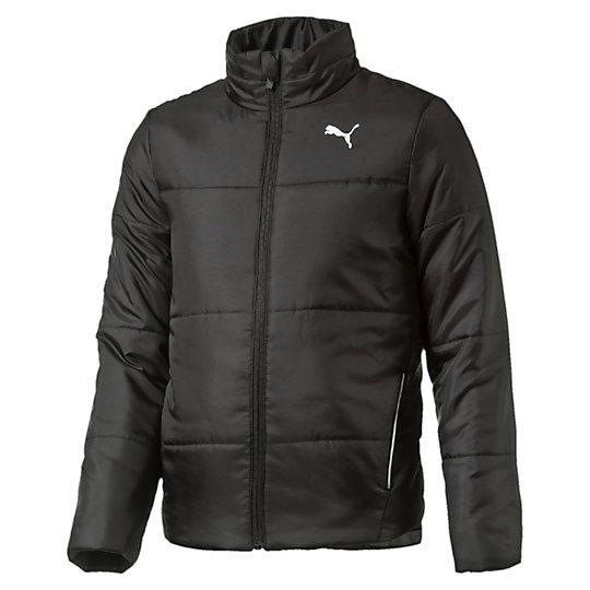 Куртка ESS Padded Jacket bОдежда<br>Куртка ESS Padded Jacket b<br>Спортивная куртка ESS Padded Jacket b для мальчиков. Ветрозащитный клапан с защитой подбородка, боковые карманы со светоотражающей окантовкой, светоотражающий принт на спине.<br><br>Коллекция: Осень-зима 2016<br>Состав: 100% полиэстер; водонепроницаемое покрытие<br>Страна-производитель: Тайвань<br><br><br>size RU: 128<br>gender: Boys