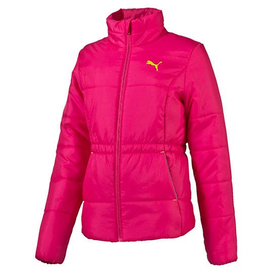 Куртка ESS Padded Jacket gОдежда<br>Куртка ESS Padded Jacket g<br>Стильная спортивная куртка ESS Padded Jacket g для девочек. Ветрозащитный клапан с защитой подбородка, эластичный пояс, боковые карманы со светоотражающей окантовкой.<br><br>Коллекция: Осень-зима 2016<br>Состав: 100% полиэстер; водонепроницаемое покрытие. Наполнитель : 100% полиэстер<br>Страна-производитель: Великобритания, Виргинские острова<br><br><br>size RU: 110<br>gender: Girls