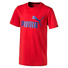 Boys' No.1 Logo T-Shirt