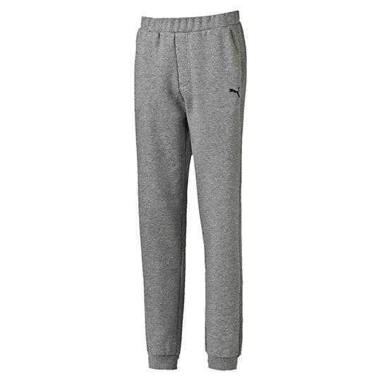 Брюки ESS Sweat Pants, FL, cl.Одежда<br>Брюки ESS Sweat Pants, FL, cl.Брюки  ESS Sweat Pants, FL, cl. - отличные спортивные брюки для подростков, которые послужат не только для занятий в спортзале, а станут удобным и стильным предметом подросткового гардероба для прогулок с друзьями, походов на природу и прочих ситуаций, когда необходим непревзойденный комфорт. Коллекция: Осень-зима 2016Состав: 66% хлопок, 34% полиэстерЦвета: черный, синий, серыйСтрана-производитель: Китай<br><br>size RU: 110<br>gender: Boys