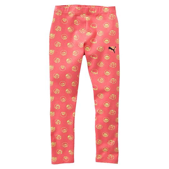Леггинсы Sesame Street LegginsОдежда<br>Леггинсы Sesame Street Leggins<br>Чудесные леггинсы PUMA с ярким принтом и любимыми героями детского телешоу «Улица Сезам» прекрасно подойдут как для занятий спортом, так и повседневной носки.<br><br>Коллекция: Осень-зима 2016<br>Состав: 95% хлопок, 5% эластан<br>Эластичный пояс<br>Облегающий покрой<br>Страна-производитель: Бангладеш<br><br><br>size RU: 104<br>gender: Girls