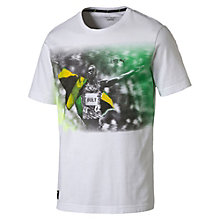 T-Shirt Usain Bolt Graphic uomo