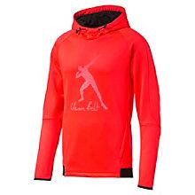 Sweat à capuche Usain Bolt Evostripe Logo Fleece pour homme