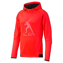Usain Bolt Evostripe Logo Men's Fleece Hoodie