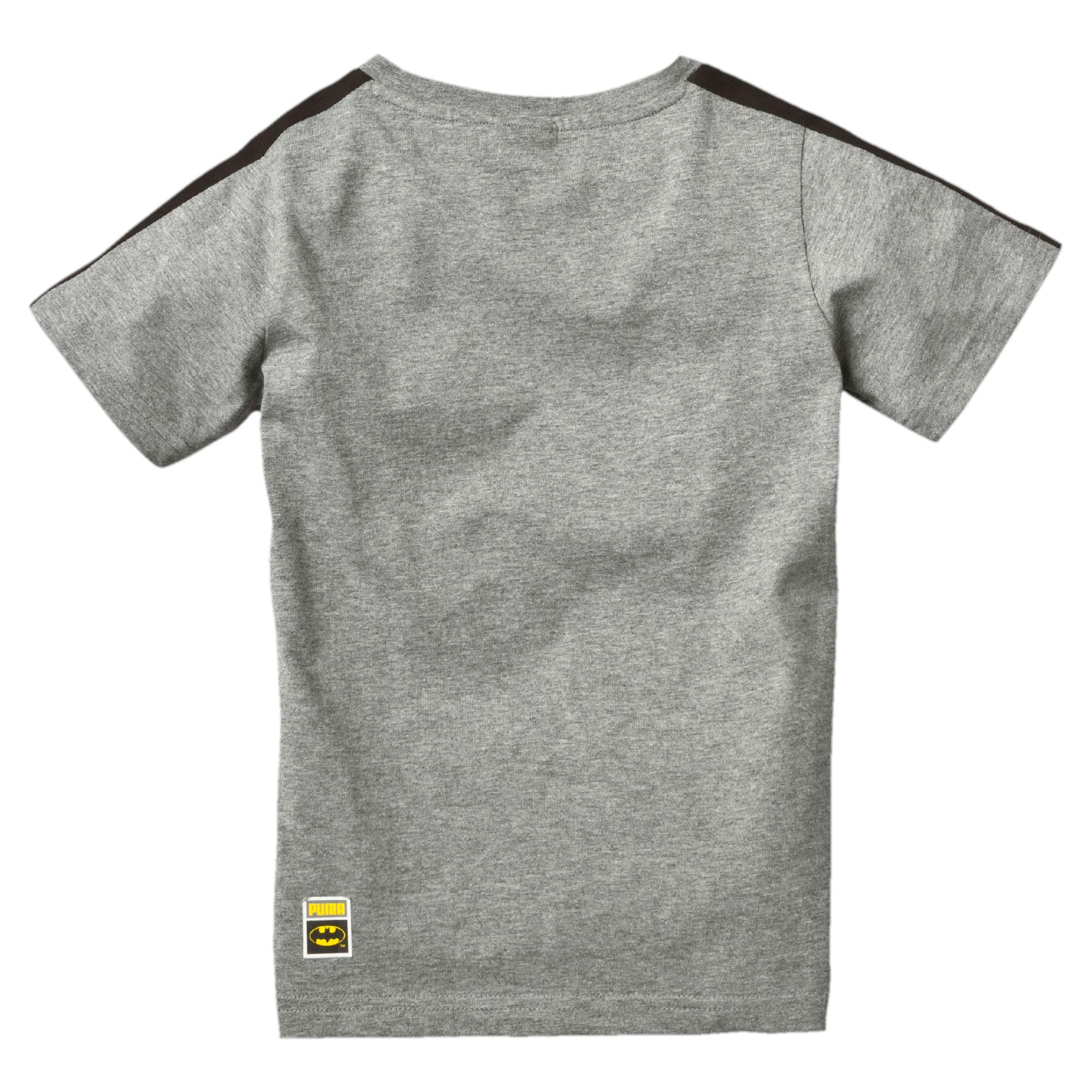 Puma Batman Boys T Shirt Kids Tee Boys New Ebay
