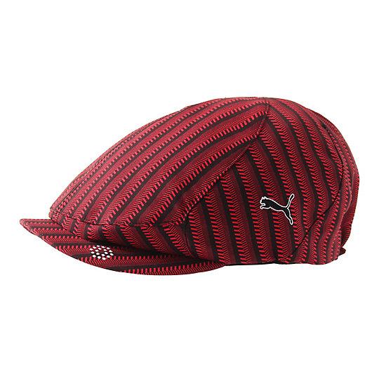 プーマ ゴルフ ストライプハンチング ユニセックス black-tango red【帽子  メンズ 帽子  その他】PUMA プーマ【サイズ OSFA/ブラック】メンズ  アクセサリー  帽子