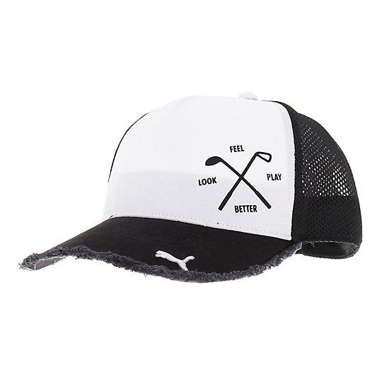 プーマ ゴルフ トラッカー ユニセックス black【帽子  メンズ 帽子  その他】PUMA プーマ【サイズ F/その他】メンズ  アクセサリー  帽子