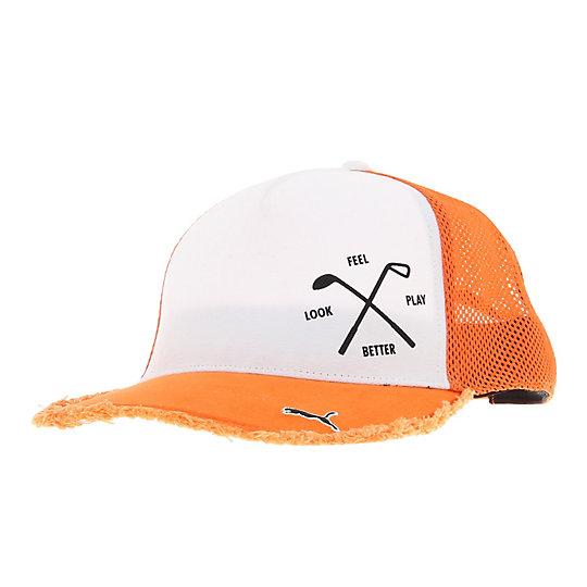 プーマ ゴルフ トラッカー ユニセックス orange【帽子  メンズ 帽子  その他】PUMA プーマ【サイズ F/オレンジ】メンズ  アクセサリー  帽子