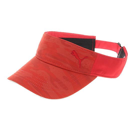 プーマ ゴルフ CAMO バイザー ユニセックス high risk red【帽子  メンズ 帽子  その他】PUMA プーマ【サイズ F/レッド】メンズ  アクセサリー  帽子