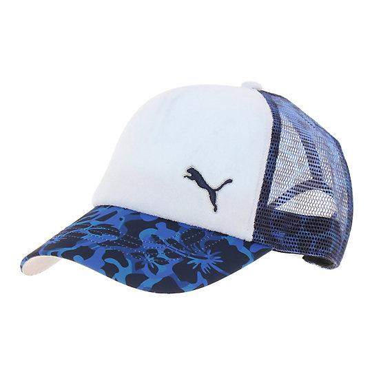 プーマ ゴルフ ウィメンズ CAMO トラッカー ユニセックス peacoat【帽子  メンズ 帽子  その他】PUMA プーマ【サイズ OSFA/ブルー】メンズ  アクセサリー  帽子
