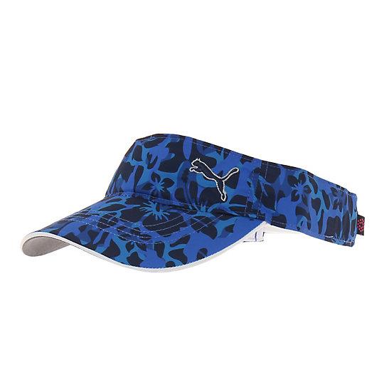 プーマ ゴルフ ウィメンズCAMO バイザー ユニセックス peacoat【帽子  メンズ 帽子  その他】PUMA プーマ【サイズ F/ブルー】メンズ  アクセサリー  帽子