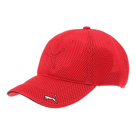 プーマ ゴルフ メッシュキャップ ユニセックス puma red【帽子  メンズ 帽子  その他】PUMA プーマ【サイズ F/レッド】メンズ  アクセサリー  帽子