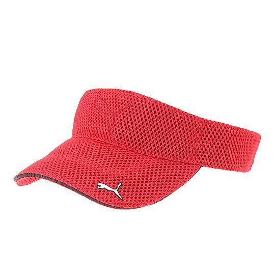 プーマ ゴルフ メッシュバイザー ユニセックス puma red【帽子  メンズ 帽子  その他】PUMA プーマ【サイズ F/レッド】メンズ  アクセサリー  帽子