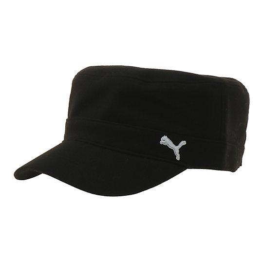 プーマ ゴルフ ミリタリーキャップ ユニセックス black【帽子  メンズ 帽子  その他】PUMA プーマ【サイズ F/その他】メンズ~~アクセサリー~~帽子
