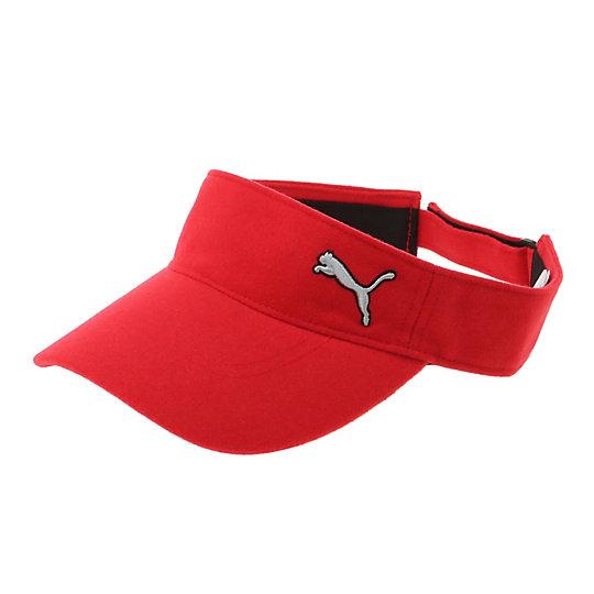 プーマ ゴルフ バイザー ユニセックス barbados cherry【帽子  メンズ 帽子  その他】PUMA プーマ【サイズ F/その他】メンズ~~アクセサリー~~帽子