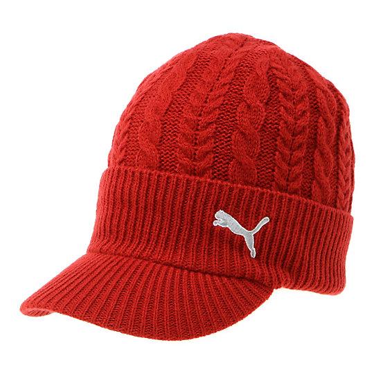 プーマ ゴルフ ブリムビーニー ユニセックス barbados cherry【帽子  メンズ 帽子  その他】PUMA プーマ【サイズ F/その他】メンズ~~アクセサリー~~帽子