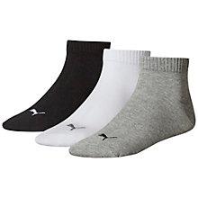 Lot de trois paires de chaussettes