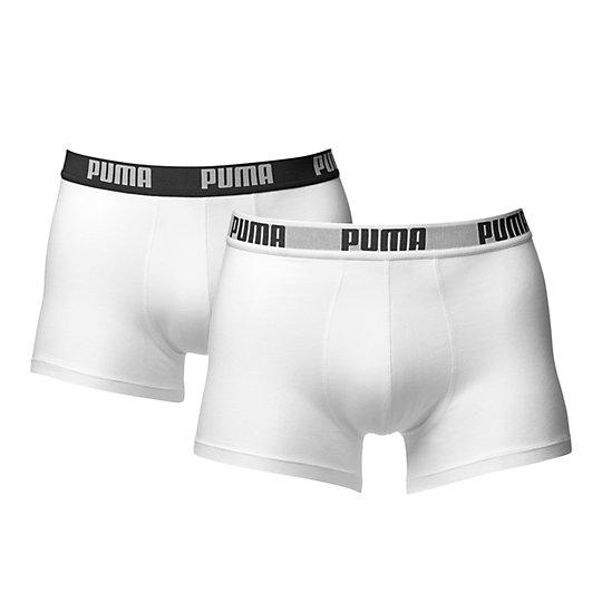 Мужское нижнее бельеНижнее белье и носки<br>Мужское нижнее белье:PUMA-боксеры, 2 шт. разных цветов в упаковкеЭластичная удобная резинка.Логотип PUMA на поясе в контрастном цвете.<br><br>size RU: 50-52<br>gender: Male