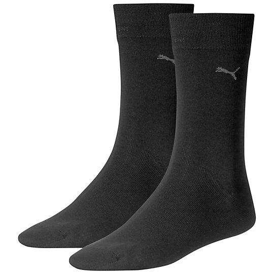 Носки PumaНижнее белье и носки<br>Классические носки PumaКачественные и удобные носки. Коллекция: Осень-зима 20162 пары в упаковке.Дышащие материалы.Лого PUMA Cat.<br><br>color: черный<br>size RU: 47-49<br>gender: Unisex