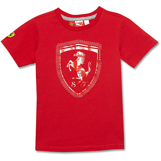 Ferrari Logo T-Shirt (S-XL)