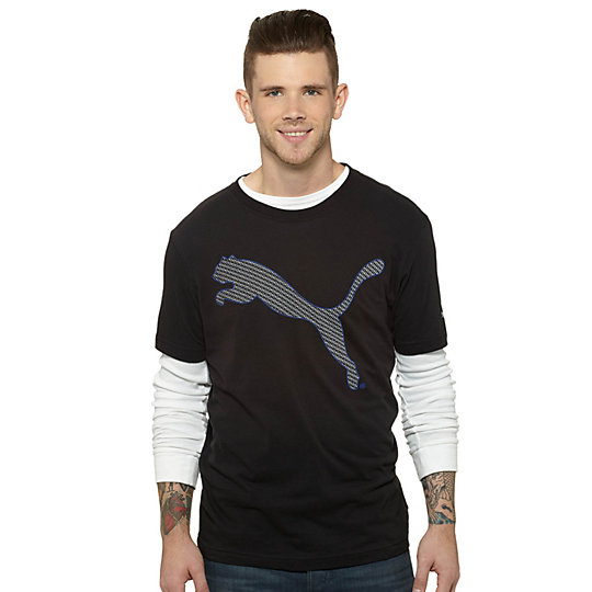 Outline Big Cat T-Shirt