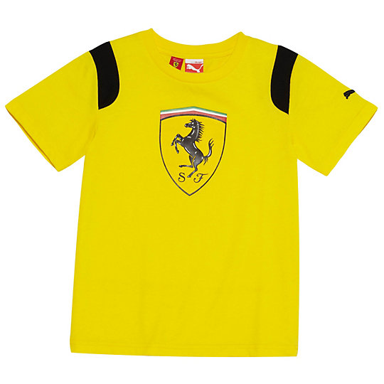 Ferrari Shield T-Shirt (S-XL)