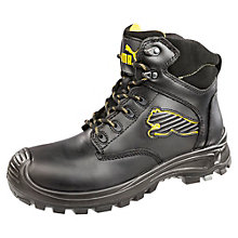 Borneo Black Mid S3 Safety Shoes
