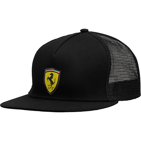 Ferrari Trucker Snapback Hat