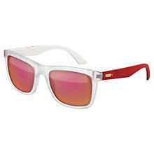 Suede Men's Sunglasses