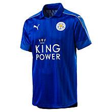 <プーマ> レスター ホーム SSレプリカシャツ メンズ Royal Blue-metallic gold