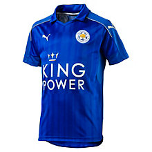 Leicester City Home Boys' Replica Jersey