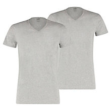 Lot de 2 T-Shirt Basic Col V