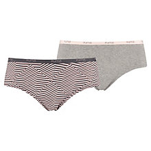 Women's Angle Striped Hipster 2 Pack