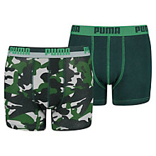 Kids'  Camo Boxer Shorts 2 Pack