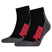 Cushioned Quarter Socks 2 Pack