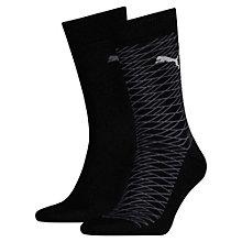 Lot de deux paires de chaussettes pour homme