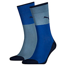 Colour Block Socks 2 Pack
