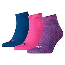 Quarter Socken 3er Pack